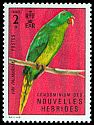 Cl: Palm Lorikeet (Charmosyna palmarum) SG 167 (1972) 400