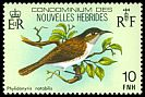 Cl: New Hebrides Honeyeater (Phylidonyris notabilis) SG 283 (1980) 50