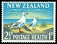 Cl: Red-billed Gull (Larus scopulinus) <<Tarapunga>>  SG 822 (1964) 12