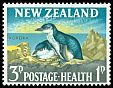 Cl: Little Penguin (Eudyptula minor) <<Korora>>  SG 823 (1964) 12