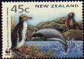 Cl: Yellow-eyed Penguin (Megadyptes antipodes) SG 1736 (1993)