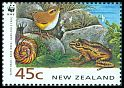 Cl: South Island Wren (Xenicus gilviventris)(Endemic or near-endemic)  SG 1738 (1993)