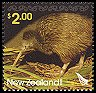 Cl: Southern Brown Kiwi (Apteryx australis)(Endemic or near-endemic)  SG 2809 (2005)  [5/1]