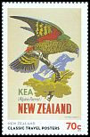 Cl: Kea (Nestor notabilis)(Endemic or near-endemic)  SG 3480 (2013)  [9/24]