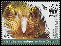 Cl: Kakapo (Strigops habroptila)(Endemic or near-endemic)  SG 2813 (2005)  [5/1]