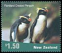Cl: Fiordland Penguin (Eudyptes pachyrhynchus)(Endemic or near-endemic)  SG 2456 (2001)