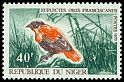 Cl: Orange Bishop (Euplectes franciscanus) SG 249a (1967) 45