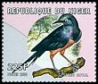 Cl: Golden-breasted Starling (Lamprotornis regius) <<Spreo royal>> (Out of range and no other stamp) (not catalogued)  (2000)