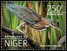 Cl: Green Heron (Butorides virescens)(Out of range) (I do not have this stamp) (not catalogued)  (2014)