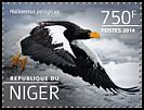 Cl: Steller's Sea-Eagle (Haliaeetus pelagicus)(Out of range) (I do not have this stamp) (not catalogued)  (2014)