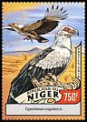 Cl: Palm-nut Vulture (Gypohierax angolensis)(I do not have this stamp) (not catalogued)  (2016)