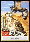 Cl: Long-legged Buzzard (Buteo rufinus)(I do not have this stamp) (not catalogued)  (2016)