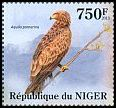 Cl: Lesser Spotted Eagle (Aquila pomarina)(I do not have this stamp) (not catalogued)  (2013)  [8/17]