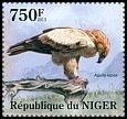 Cl: Tawny Eagle (Aquila rapax)(I do not have this stamp) (not catalogued)  (2013)  [8/17]