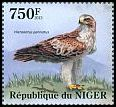 Cl: Booted Eagle (Aquila pennata)(I do not have this stamp) (not catalogued)  (2013)  [8/17]