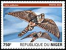 Cl: Eurasian Hobby (Falco subbuteo)(I do not have this stamp) (not catalogued)  (2015)