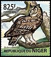 Cl: Cape Eagle-Owl (Bubo capensis)(Out of range) (I do not have this stamp) (not catalogued)  (2015)