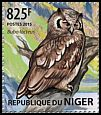 Cl: Verreaux's Eagle-Owl (Bubo lacteus)(Repeat for this country) (I do not have this stamp) (not catalogued)  (2015)