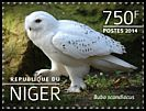Cl: Snowy Owl (Bubo scandiacus)(Out of range) (I do not have this stamp) (not catalogued)  (2014)