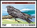 Cl: Eurasian Nightjar (Caprimulgus europaeus)(I do not have this stamp) (not catalogued)  (2015)