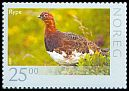 Cl: Willow Ptarmigan (Lagopus lagopus) <<Rype>>  SG 1708 (2009) 1050 [6/2]