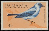 Cl: Blue-grey Tanager (Thraupis episcopus) <<Azulejo>>  SG 918 (1965) 8 [3/20]