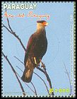 Cl: Southern Caracara (Caracara plancus) <<Carancho>> (Repeat for this country)  SG 1954 (2013) 300 [9/18]