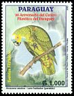Cl: Blue-fronted Parrot (Amazona aestiva) <<Loro hablador>>  SG 1670 (2003)