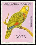 Cl: Yellow-headed Parrot (Amazona oratrix)(Out of range) (not catalogued)  (1969)