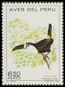 Cl: Red-billed Toucan (Ramphastos tucanus) <<Tioujan>>  SG 1134 (1972) 80 [2/32]