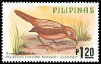 Cl: Brown Tit-Babbler (Macronus striaticeps) SG 1505 (1979) 65