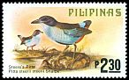 Cl: Azure-breasted Pitta (Pitta steerii) SG 1507 (1979) 110