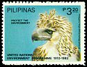 Cl: Great Philippine Eagle (Pithecophaga jefferyi)(Endemic or near-endemic)  SG 1708 (1982) 140