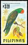 Cl: Great-billed Parrot (Tanygnathus megalorynchos)(Endemic or near-endemic)  SG 1796 (1984) 60