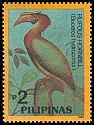 Cl: Rufous Hornbill (Buceros hydrocorax)(Endemic or near-endemic)  SG 2468 (1992)