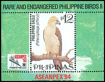Cl: Great Philippine Eagle (Pithecophaga jefferyi)(Endemic or near-endemic)  SG 2693 (1994)