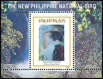 Cl: Great Philippine Eagle (Pithecophaga jefferyi)(Endemic or near-endemic)  SG 2761 (1995)