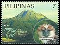 Cl: Great Philippine Eagle (Pithecophaga jefferyi)(Endemic or near-endemic) (I do not have this stamp)  SG 4552 (2012)  [7/34]