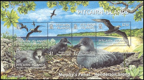 Cl: Murphy's Petrel (Pterodroma ultima)(Endemic or near-endemic)  SG 679 (2004)  [3/34]