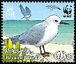 Cl: Sooty Tern (Sterna fuscata)(Repeat for this country)  SG 725 (2007)  [4/14]