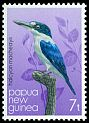 Cl: Forest Kingfisher (Todirhamphus macleayii) SG 402 (1981) 25