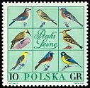Cl: Eurasian Hoopoe (Upupa epops)(Repeat for this country)  SG 1697 (1966) 15