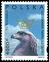 Cl: Golden Eagle (Aquila chrysaetos)(Repeat for this country)  SG 3499 (1993) 75