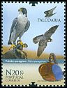 Cl: Peregrine Falcon (Falco peregrinus)(Repeat for this country)  SG 4041 (2013)  [11/15]