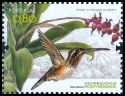 Cl: Minute Hermit (Phaethornis idaliae)(Out of range and no other stamp)  SG 3734 (2010)  [6/32]