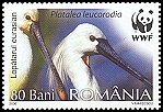 Cl: Eurasian Spoonbill (Platalea leucorodia)(Repeat for this country)  SG 6734 (2006)