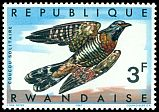 Cl: Red-chested Cuckoo (Cuculus solitarius) <<Coucou solitaire>>  SG 244 (1967) 12