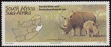 Cl: Red-billed Oxpecker (Buphagus erythrorhynchus)(Repeat for this country)  SG 866 (1995) 60