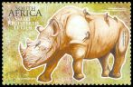 Cl: Red-billed Oxpecker (Buphagus erythrorhynchus)(Repeat for this country)  SG 1764a (2010) 250 [6/36]