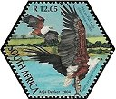 Cl: African Fish-Eagle (Haliaeetus vocifer)(Repeat for this country)  SG 1508h (2004) 200 [3/55]